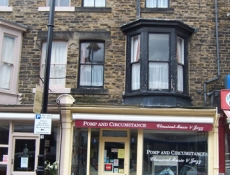 The premises on Commercial Street, Harrogate